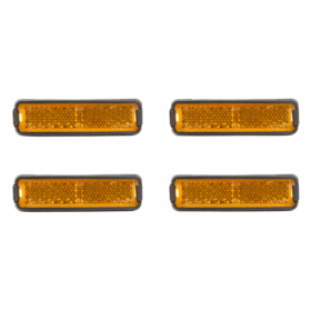 Cube RFR Refleks sett Pedaler Refleks Orange